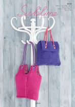 Sublime Lola Super Chunky -  6123 Bags  Knitting Pattern